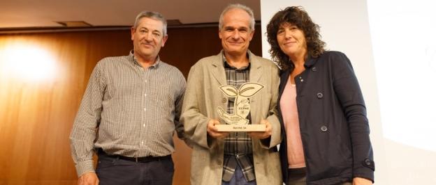 Riet Vell recibe un reconocimiento del CCPAE por su contribución al desarrollo de la producción ecológica en Cataluña